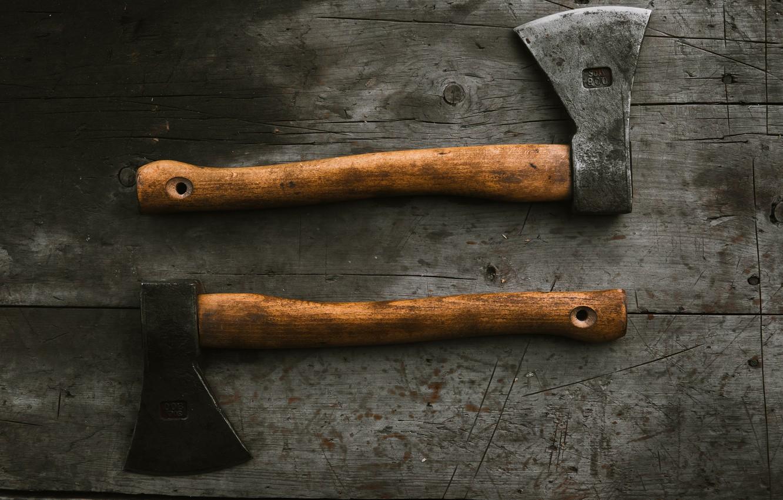 Фото обои axe, топор, топоры