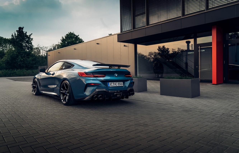 Фото обои машина, купе, BMW, фонари, AC Schnitzer, G15, M850i, ACS8 5.0i