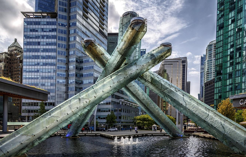 Фото обои British Columbia, Downtown, Vancouver, Canada Place