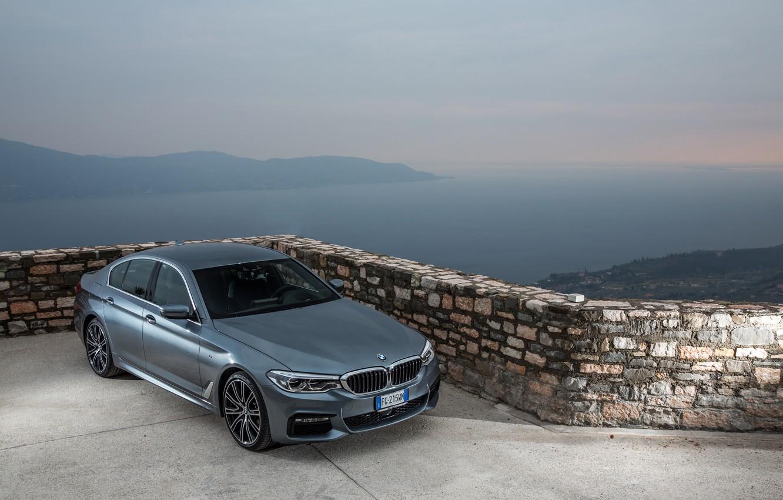 Фото обои BMW xDrive 530d, BMW 2017, BMW M Sport, BMW 2017 530d xDrive Sedan M Sport …