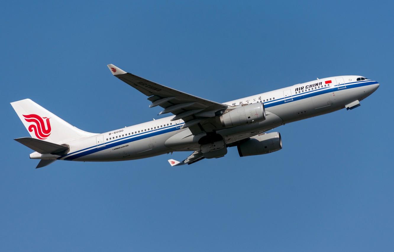Фото обои Airbus, Air China, A330-200