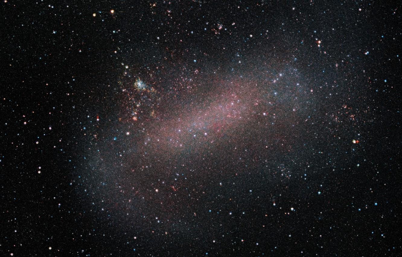 Фото обои космос, БМО, LMC, Большое Магелланово Облако, карликовая галактика