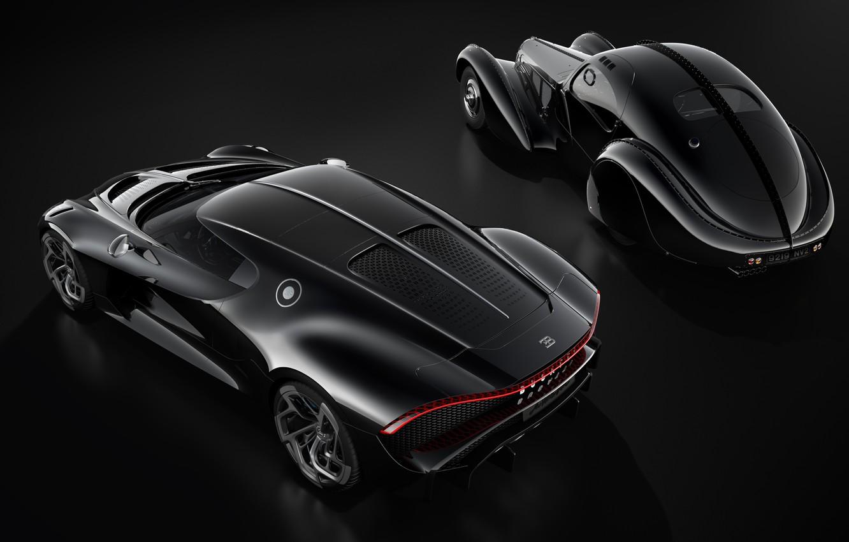 Фото обои машины, ретро, Bugatti, гиперкар, La Voiture Noire