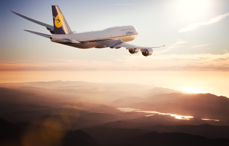 Обои Lufthansa. Авиация foto 16