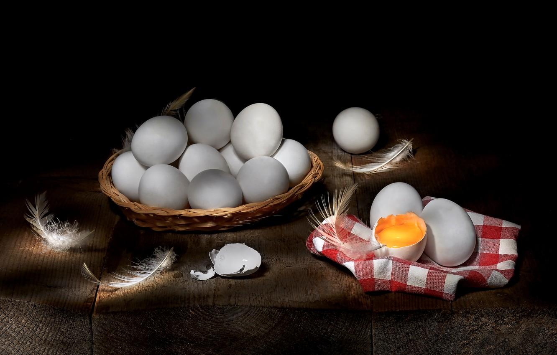 Обои перо, яйца. Разное foto 18