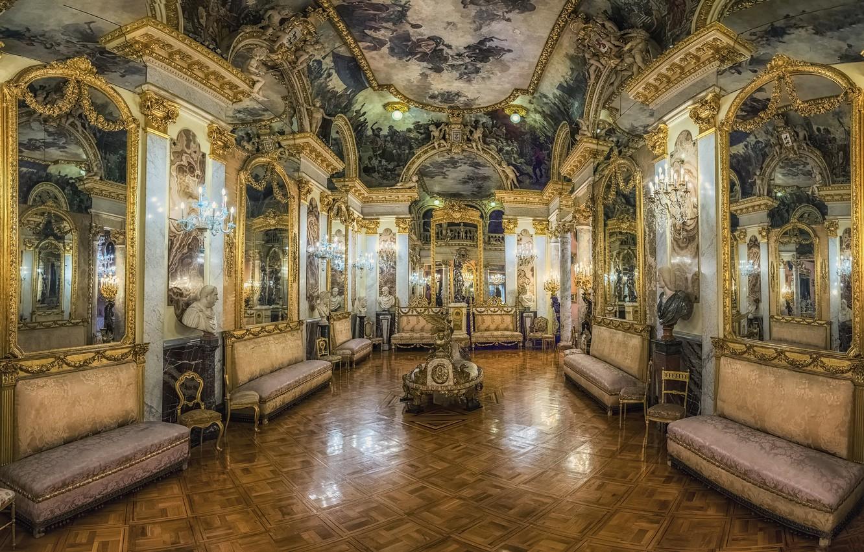 Фото обои музей, роспись, Palacio-Museo Cerralbo en Madrid