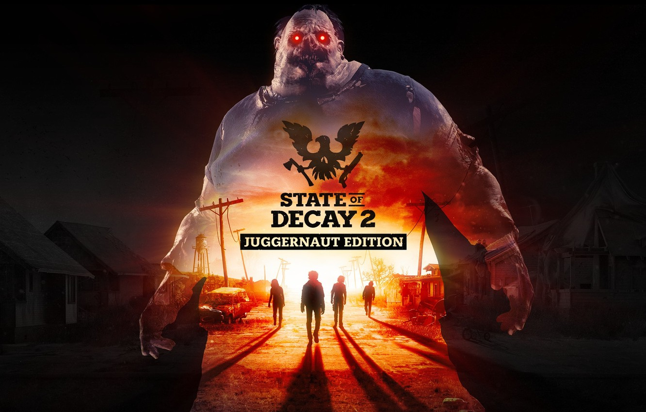 Фото обои Game, Undead Labs, State of Decay 2: Juggernaut Edition