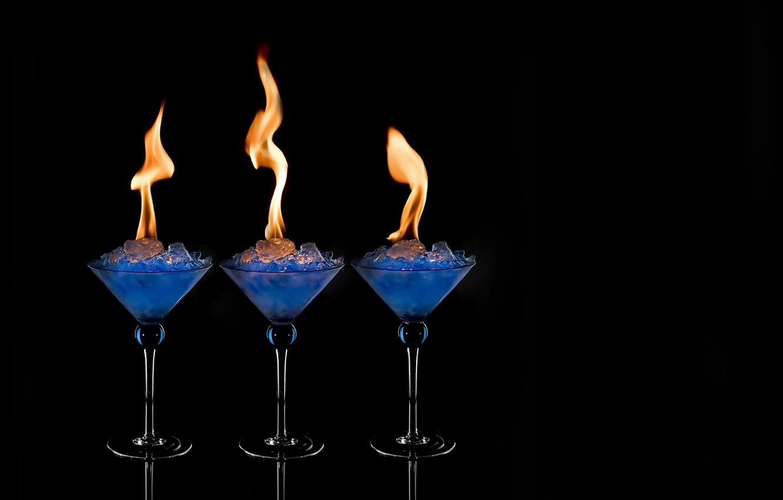 Фото обои фон, огонь, напиток