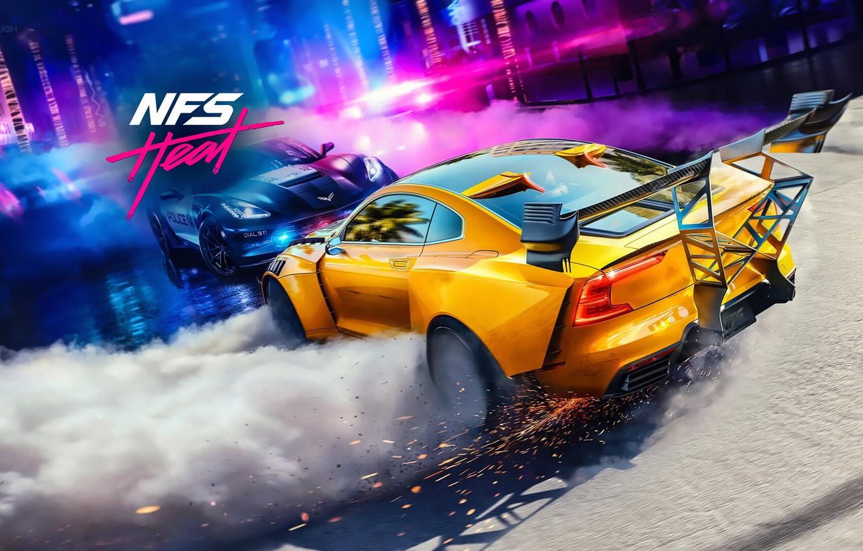 Фото обои Electronic Arts, Ghost Games, NFS Heat, Need for Speed Heat