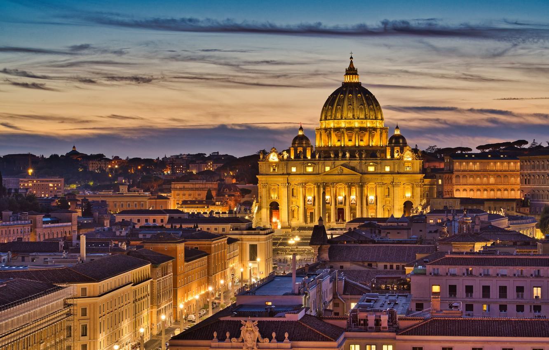 Обои улица, Ватикан, здания, дома. Города foto 10