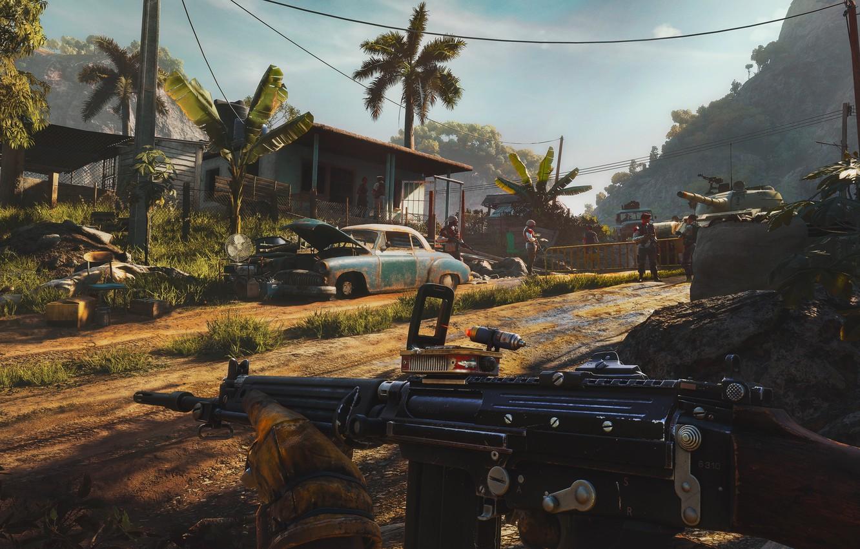 Фото обои Игра, Far Cry, Ubisoft, Game, 2021, Far Cry 6