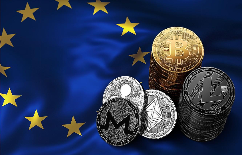 Фото обои флаг, flag, bitcoin, ripple, btc, litecoin, monero, ethereum