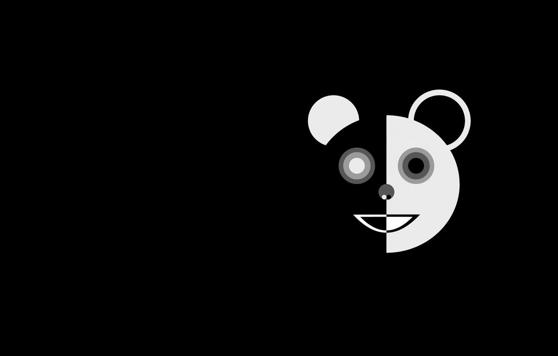 Фото обои арт, панда, Panda, Marco Beghi