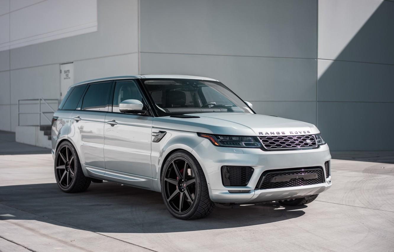Фото обои Land Rover, Range Rover, Sport, Silver, Backgraund