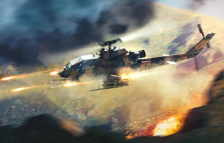 Обои боевой, вертолёт. Авиация foto 14