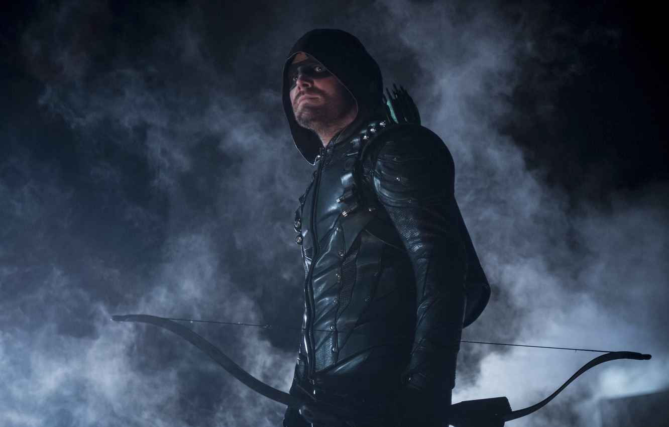 Фото обои Green Arrow, Arrow, Stephen Amell, Oliver Queen, The CW