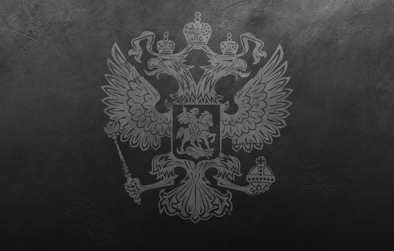 Обои царапины, герб России, stena, серый, россия, герб, двуглавый орел. Разное foto 6