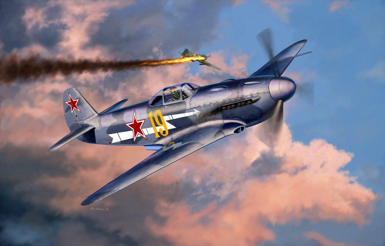 Обои истребитель, ВВС РККА, советский, великая отечественная война, одномоторный, ссср. Авиация foto 13