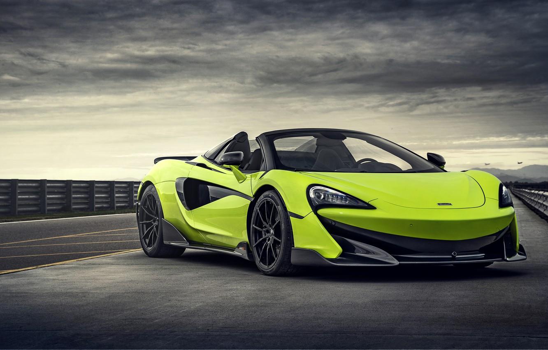 Фото обои McLaren, суперкар, Spider, 2019, 600LT