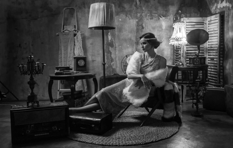 Фото обои девушка, комната, интерьер, girl, room, interior, Antonyus Bunjamin (Abe)