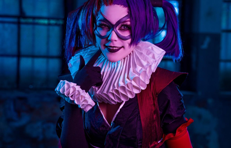 Фото обои косплей, Harley Quinn, Batman Ninja, Михаил Давыдов