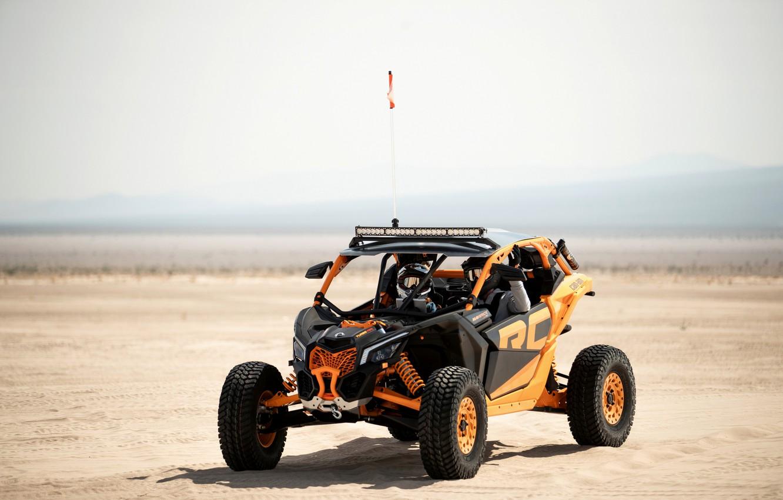 Фото обои песок, пустыня, Can-Am, Maverick X3 RC