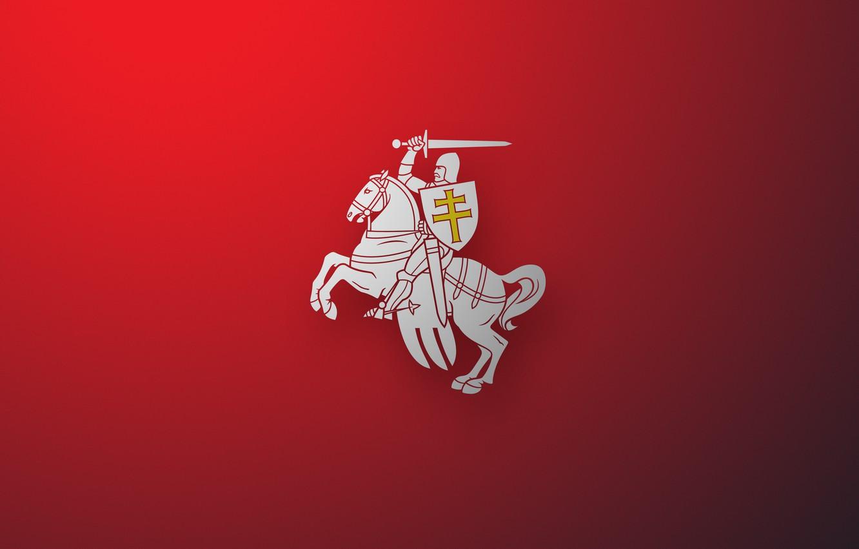 Фото обои Обои, Погоня, Герб, Wallpapers, Пагоня, Беларусь, Emblem, Belarus, БНР, Pogoń, Herb, Herbas, Vytís, BNR
