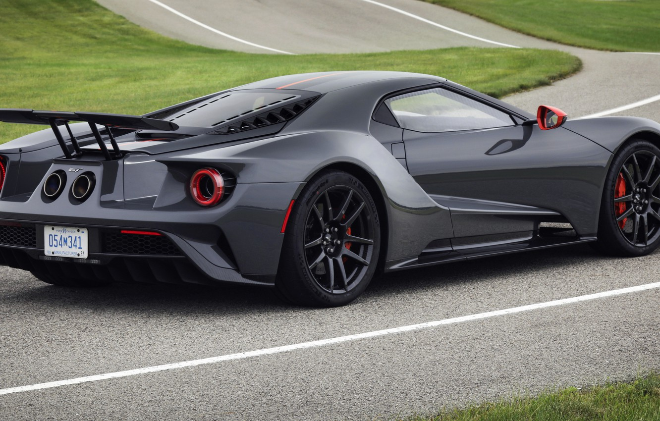 Фото обои купе, Ford, Ford GT, трек, 2019, Carbon Series Edition