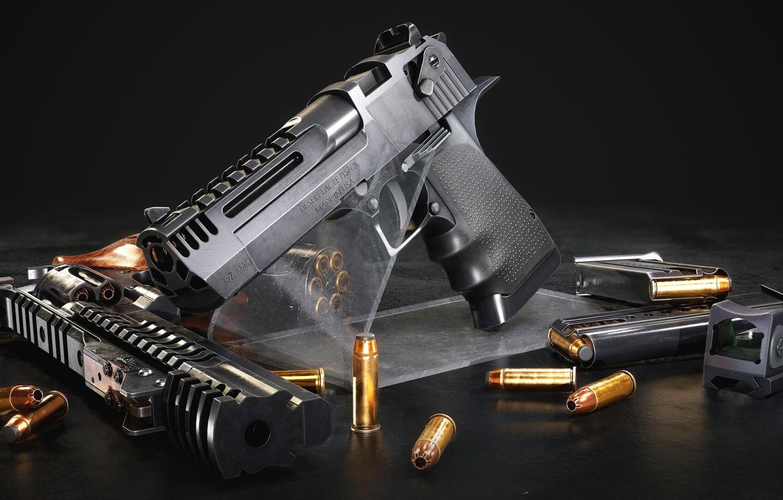 Фото обои оружие, Кастом, gun, Корт, weapon, render, custom, desert eagle, рендер, 3d art, Револьвер, Revolver, ренденринг, …