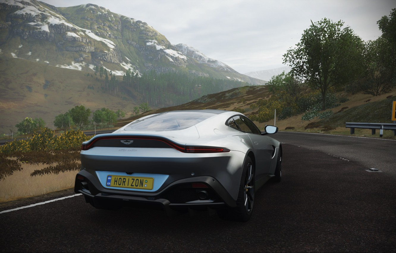 Фото обои Aston Martin, Road, Forza Horizon 4