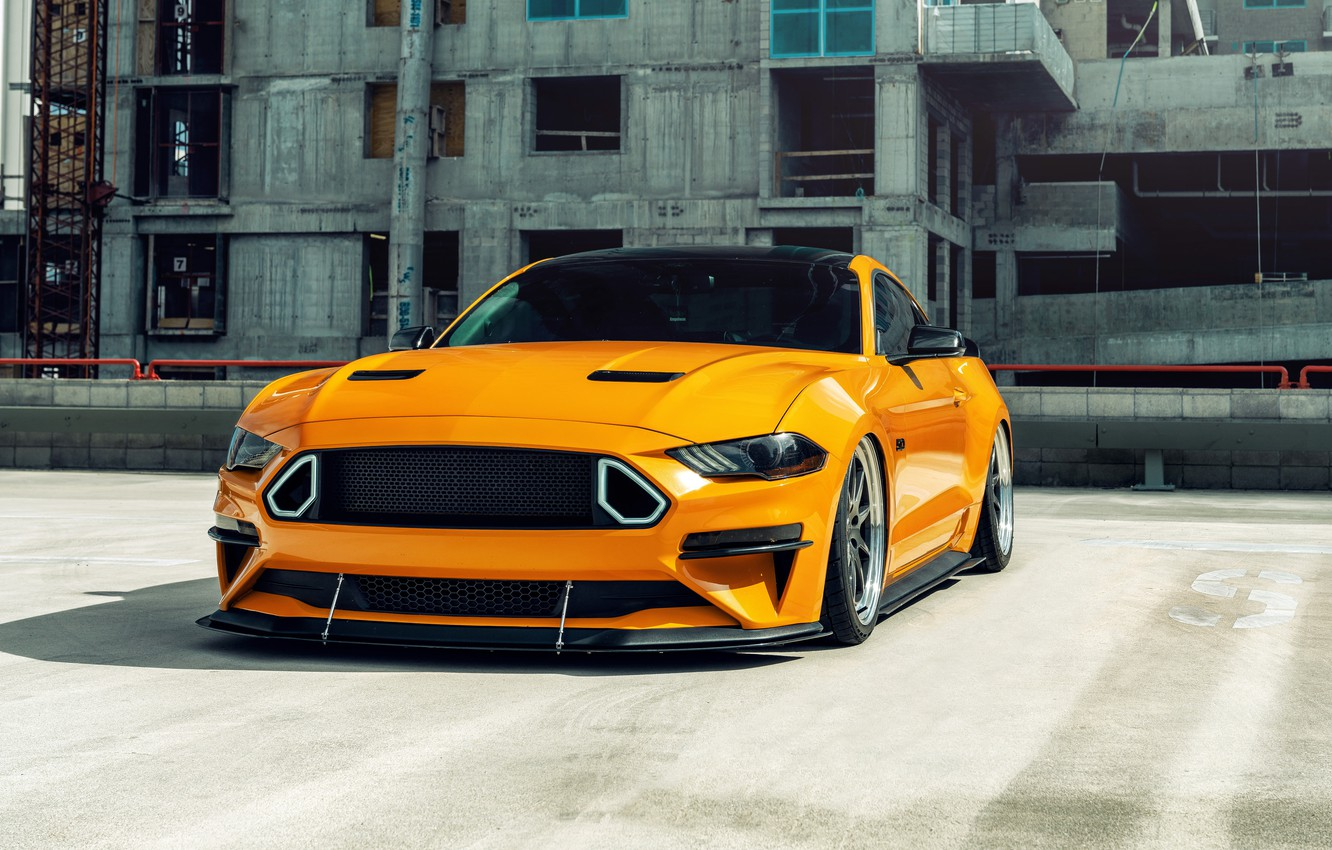 Фото обои Mustang, Ford, Ford Mustang GT