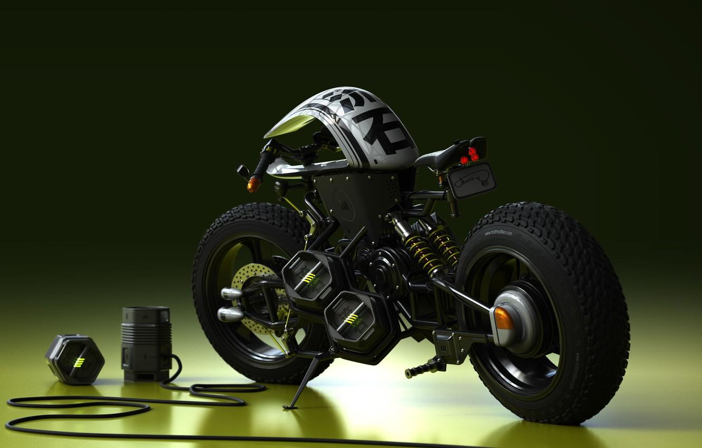 Фото обои дизайн, стиль, мотоцикл, байк