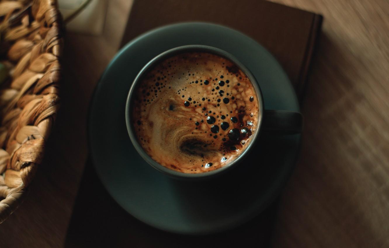 Фото обои настроение, кофе, кружка, книга, напиток