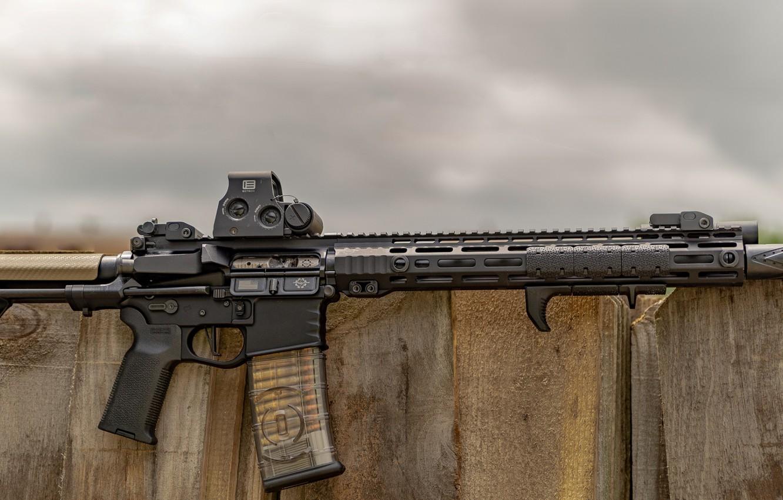 Фото обои оружие, weapon, custom, ar-15, assault rifle, штурмовая винтовка, assault Rifle, ар-15