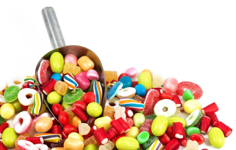 Фото обои конфеты, sweet, мармелад, candy