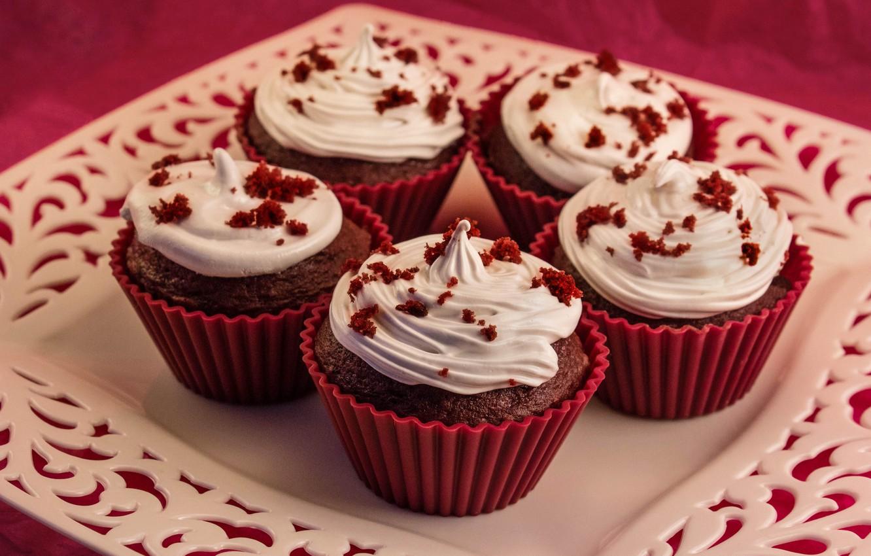 Фото обои Сладости, Cake, Кексы