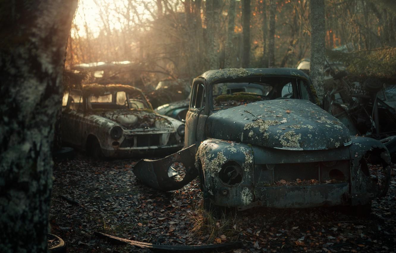 Обои машины, лом. Автомобили foto 7