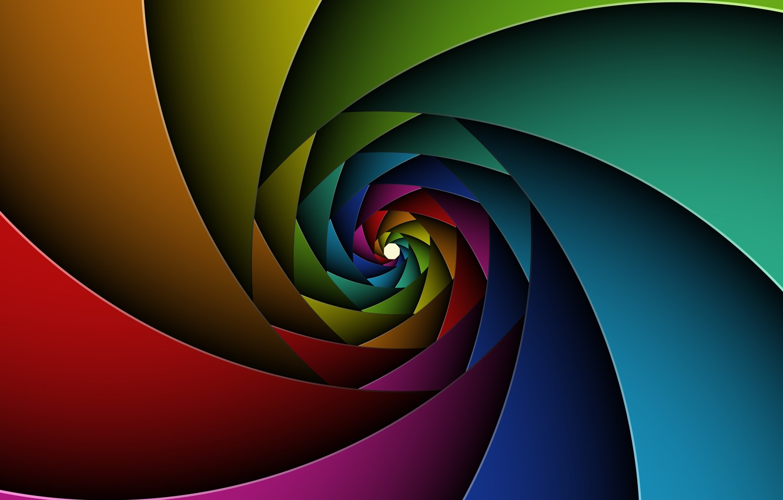 Фото обои colours, spin, chart