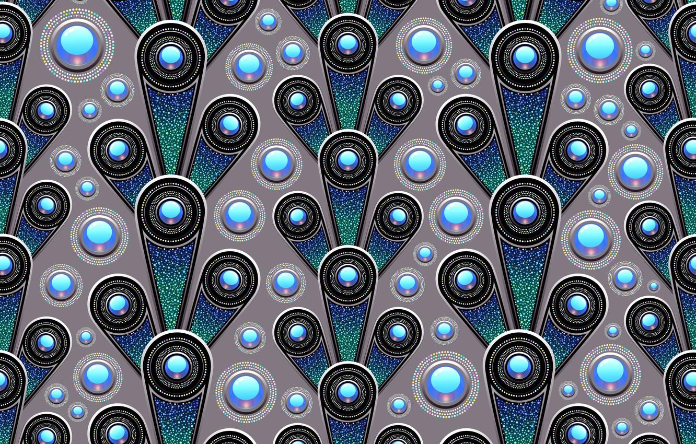 Фото обои синий, фон, графика, текстура, геометрия, digital art