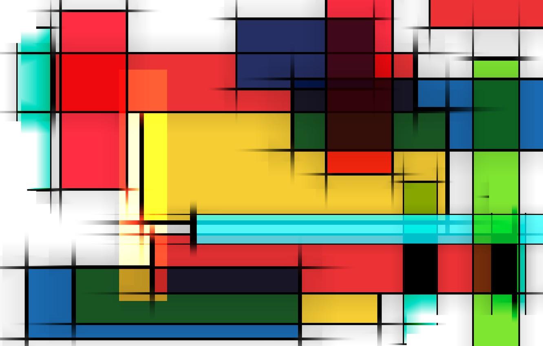 Фото обои линии, графика, разноцветные