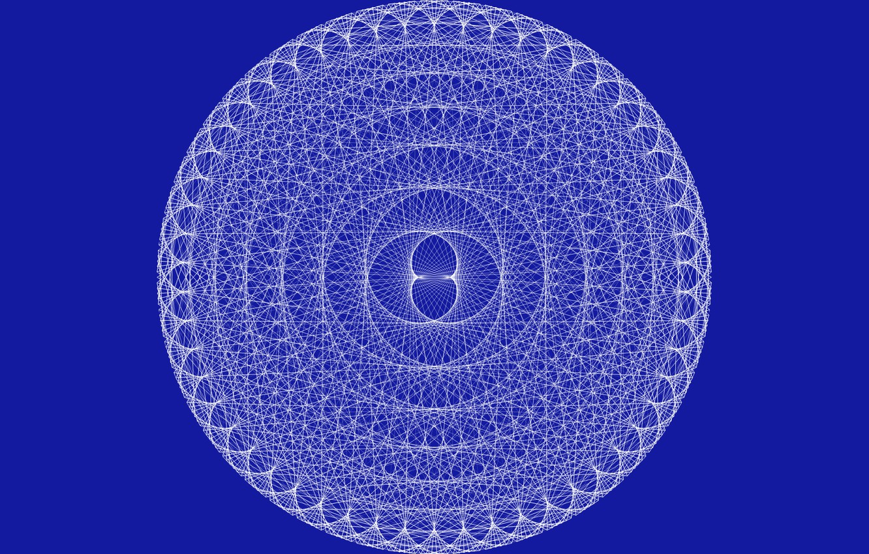 Фото обои circle, awesome pattern, mandelbrot set
