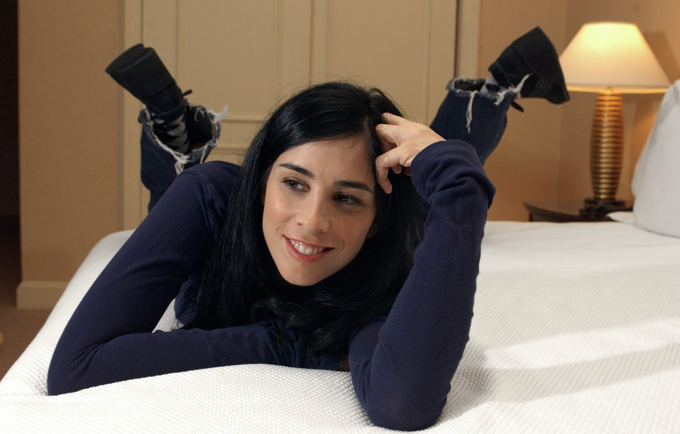 Фото обои actress, comedian, sarah silverman