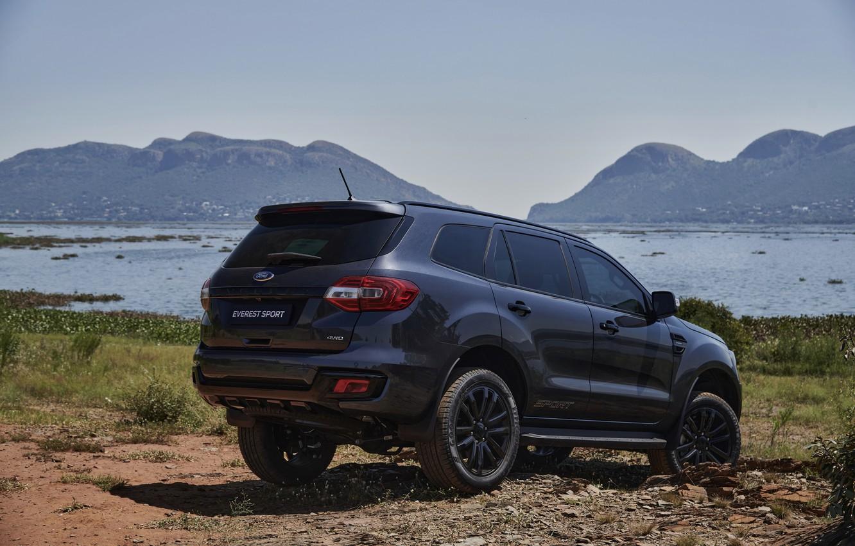Фото обои побережье, Ford, Sport, Everest, 4WD, 2021