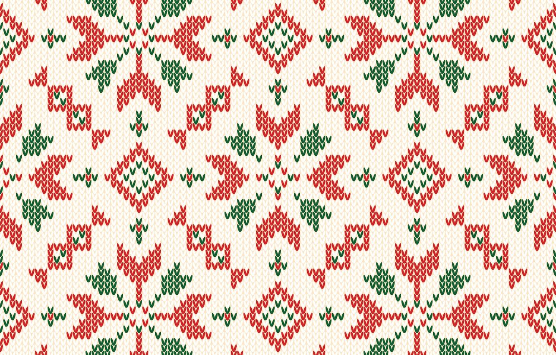 Фото обои зима, фон, узор, colorful, Рождество, Christmas, winter, background, pattern, вязаный, knitted, seamles