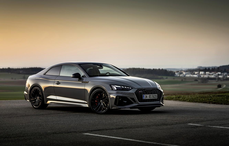 Фото обои Audi, купе, RS 5, 2020, двухдверное, RS5 Coupe