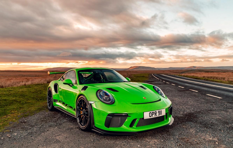 Фото обои 911, Porsche, 2018, GT3 RS