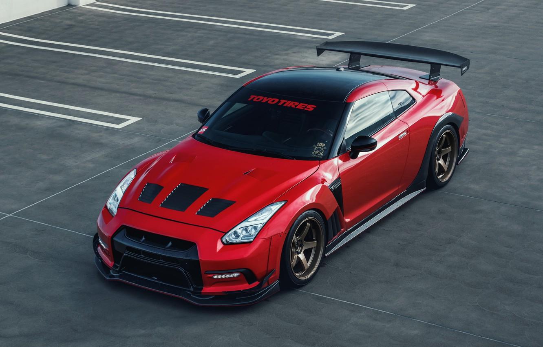 Фото обои Nissan, GT-R, Nissan GT-R