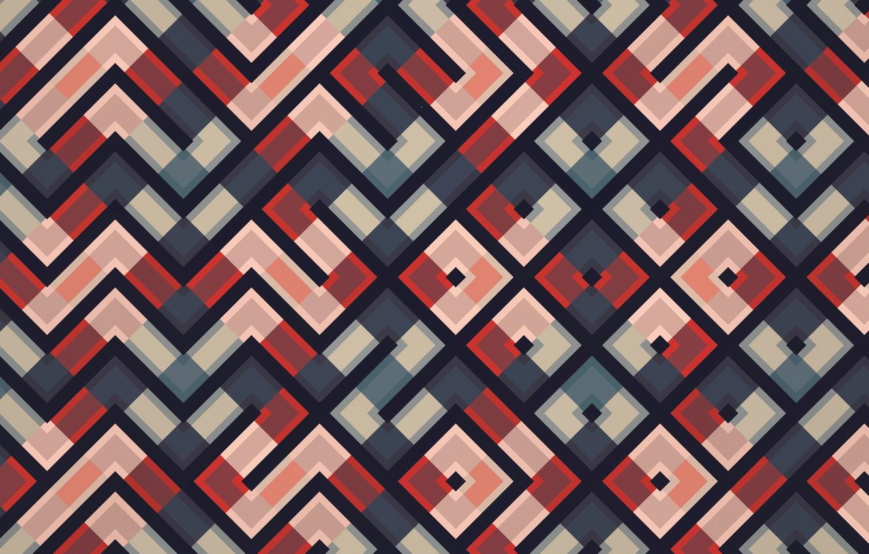 Фото обои абстракция, Фон, квадрат, треугольник