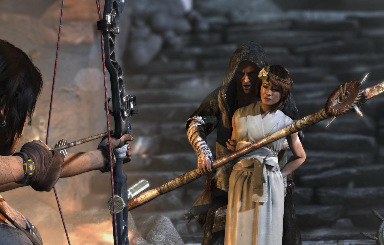 Фото обои Tomb Raider, Square Enix, Lara Croft, 21:9, UltraWide