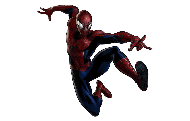 Фото обои Marvel, человек паук, hero, spider man